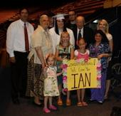Will, Mom, Marci, Dad, Lynna, Heidi, and nieces