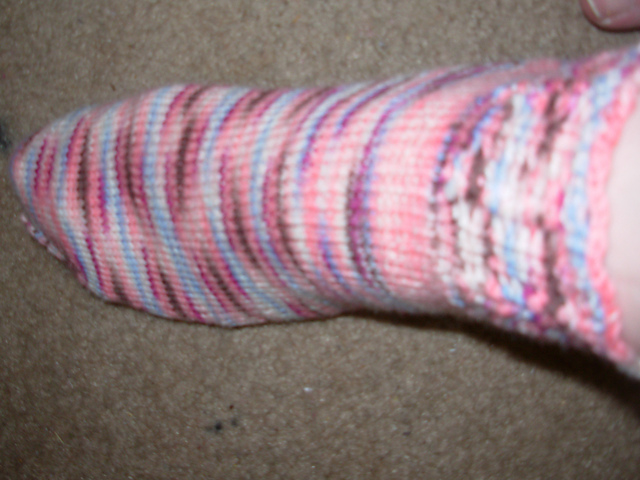 Soft Waves Berry Ice Cream Socks